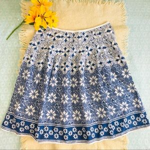 Beautiful New York & Co Floral Skirt Size 10
